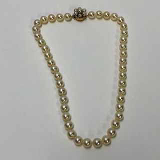 14K Gold and Pearl Necklace
