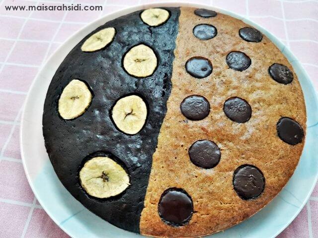 kek pisang dua benua