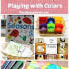 Playing with Colors and {Learn & Play Link Up #3}