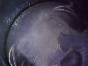 USBエンドスコープで撮影した画像