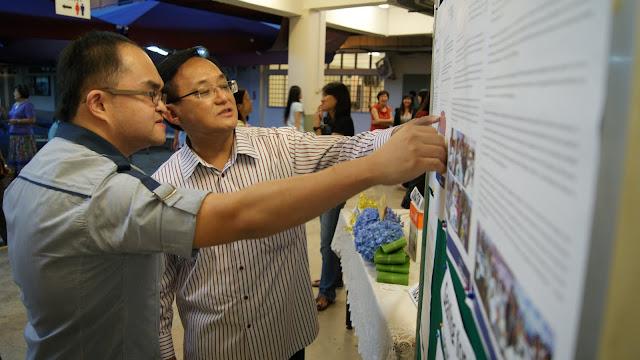 Mr Seng and Kent Teo (AJCAA Secretary)