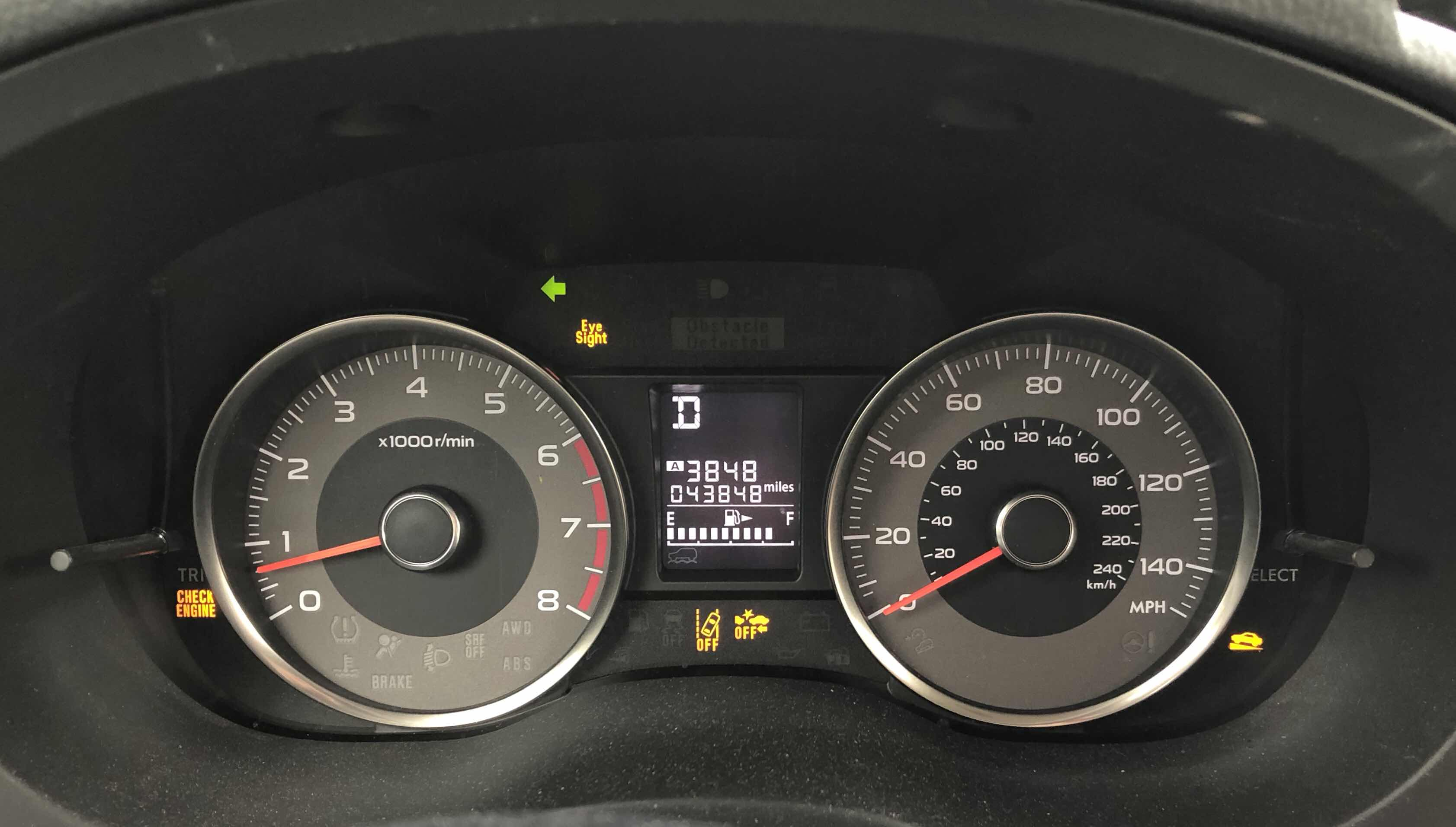 Lit S Living On Capitol Hill Hell Subaru Forester Check Engine Light Resolved