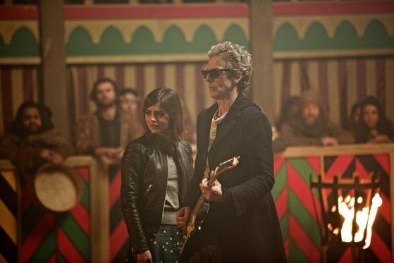 Doctor Who The Magicians Apprentice ZZ Top Doctor and Clara
