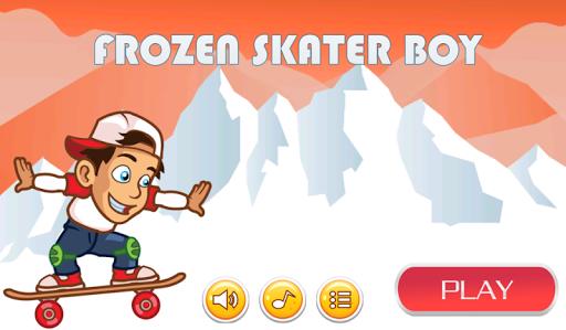 Frozen Skater Boy
