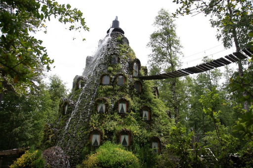 Magic Mountain Hotel, Χιλή.