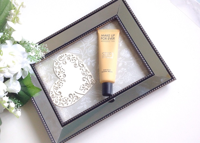Make Up For Ever Step 1 Radiant Primer Yellow