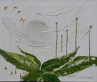 """""""Sich wiegen lassen"""", Öl auf Leinwand, 60x50, 2005, verkauft"""