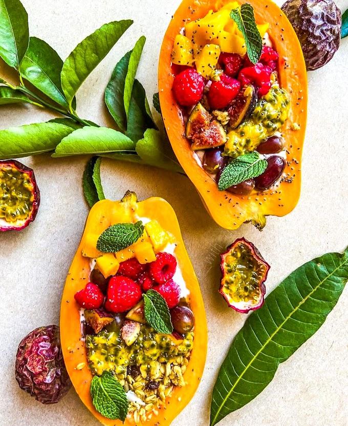 Papaya Boats Recipe   Breakfast Care