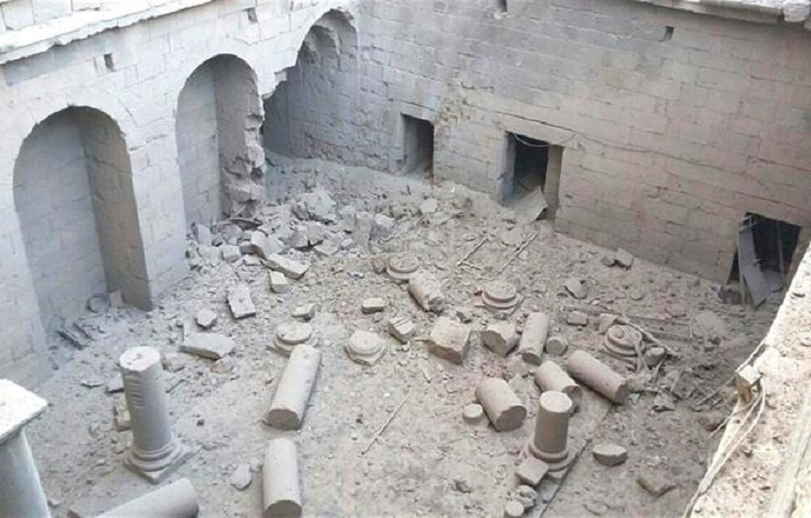 Near East: Syria regime bombs UNESCO Heritage Site