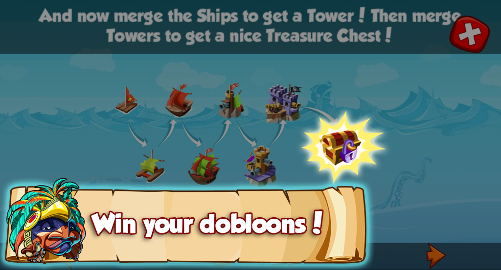 Pirate Saga - Triple match- screenshot