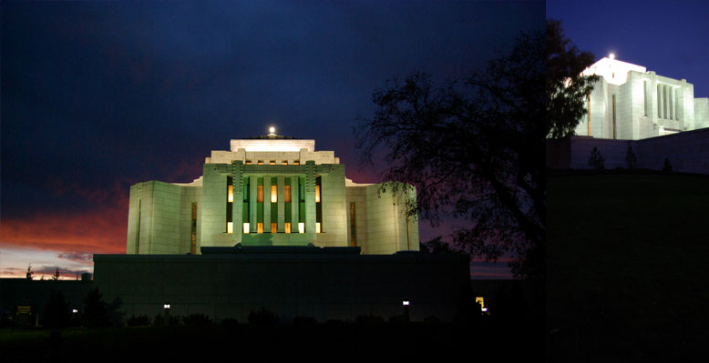 Cardston Alberta Temple, October 11, 2012