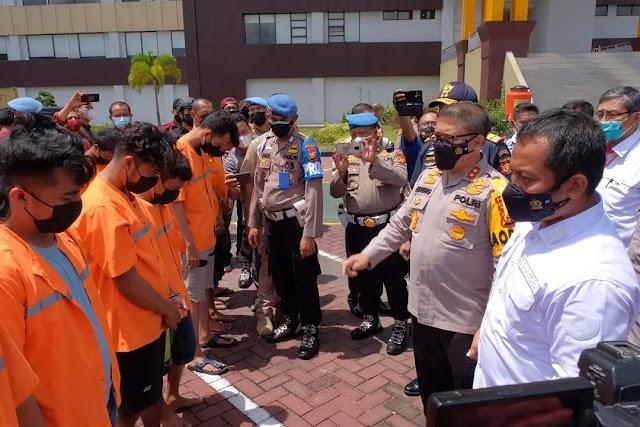 7 Pelaku Jaringan Narkoba Asal Malaysia Berhasil Disita 117 Kg Sabu dan 1.000 ekstasi
