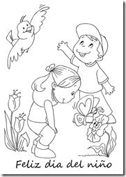 colorear dia del niño (1)