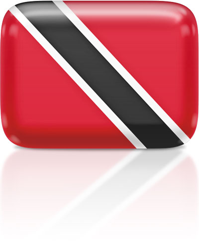 Trinidadian or Tobagonian flag clipart rectangular