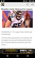 Screenshot of Jacksonville Jaguars