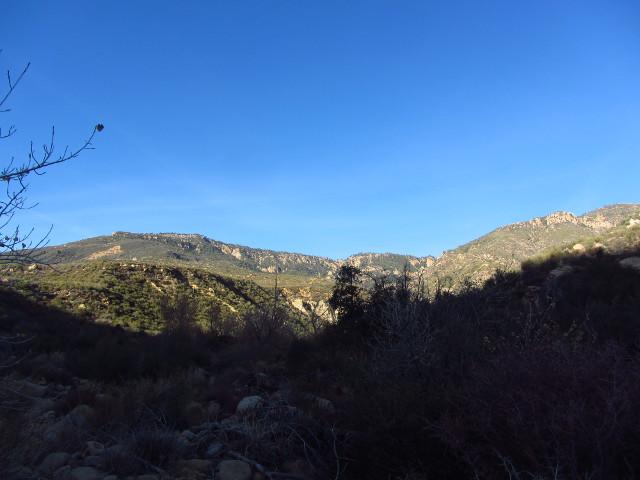 Reyes to Haddock peaks