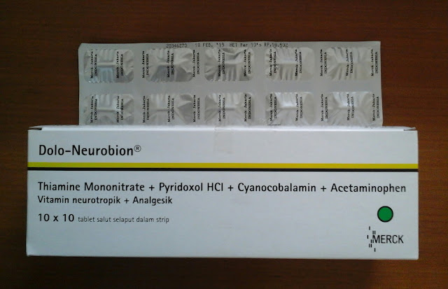Dolo-Neurobion (Vitamin Neurotropik & Anti Nyeri)