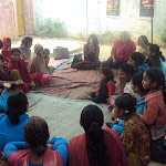 Ambassador Melanne Verveer's visit to Apne Aap Community Center at Najafgarh
