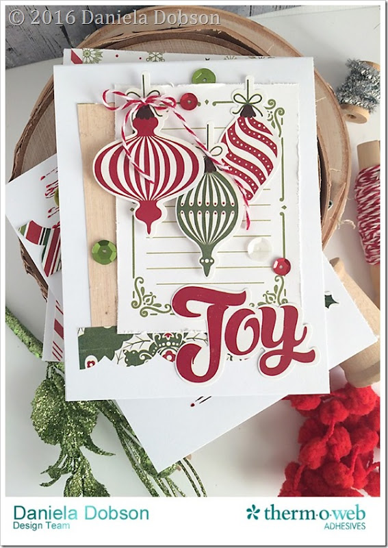 Joy cards by Daniela Dobson