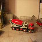 More pictures  from the the Hall and Co diorama, featuring A RTI Foden S21 (FOD5) cab on a converted mixer body