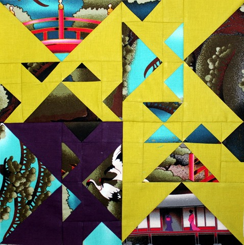 Geese on the Loose Quilt Block