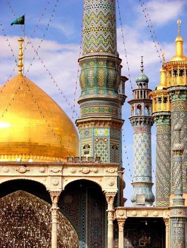 Minarets in Qom, Iran 2
