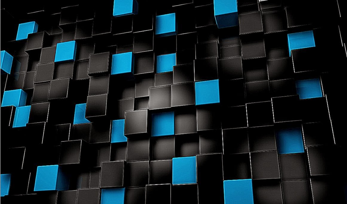 Wallpaper 3d black cube for desktop wallpaper background for Black 3d wallpaper