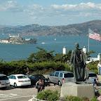 Telegraph Hill, uitzicht op Alcatraz