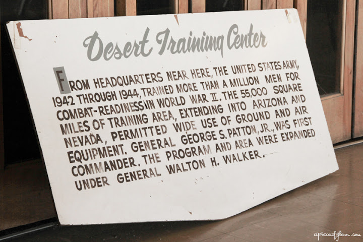 Road Trip USA : Desert Training Center
