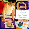 Homemade Face Puzzle for Toddlers