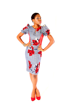ankara gown3