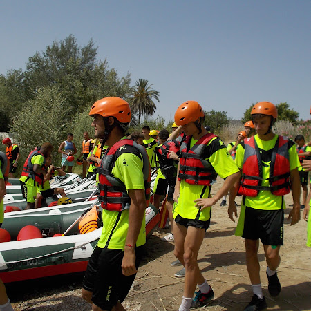 Descenso en Rafting Elche CF 17/07/2018