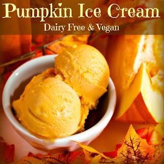 Coconut Milk Pumpkin Ice Cream