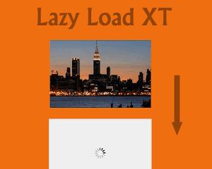 Lazy Load XT jQuery Plugin