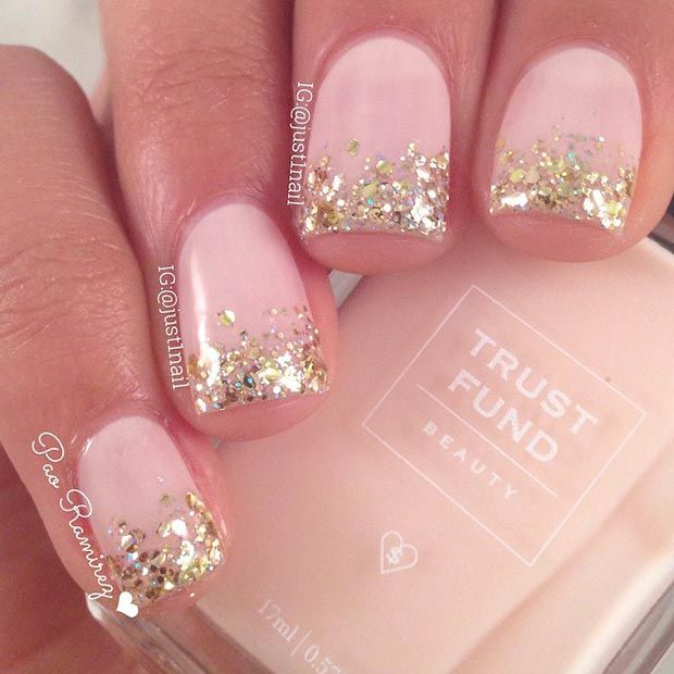 Thread ombre nail art designs style for 2016