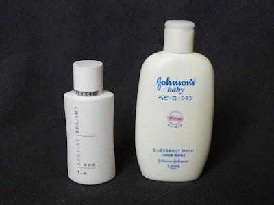 ちふれ美容液、ジョンソン&ジョンソン ベビーローション ホワイト