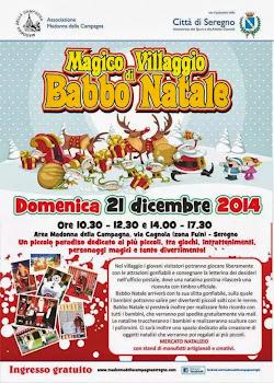 Magico Villaggio di Babbo Natale 21 Dicembre Seregno (Mb)