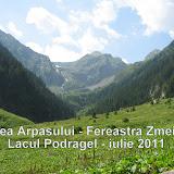 Valea Arpasului - Fereastra Zmeilor - Podragel