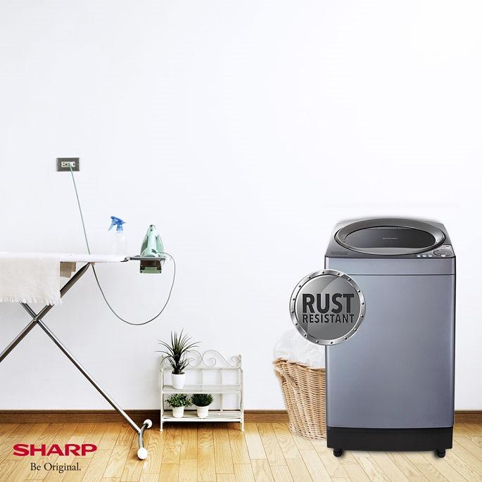 sharp fully automatic washing machine