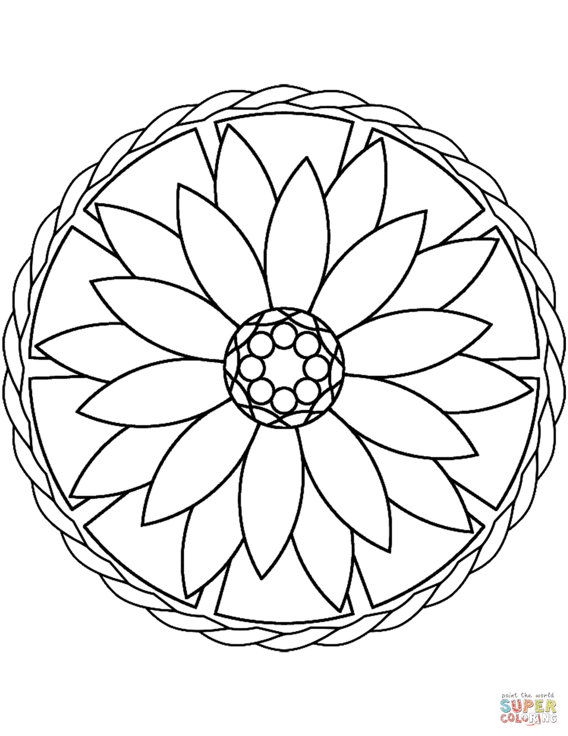 Mandail - Free Coloring Pages