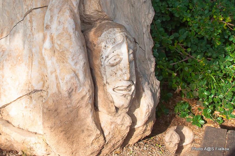 Скульптура в Латруне. Скульптор Хагай Баз. Экскурсии в Израиле.
