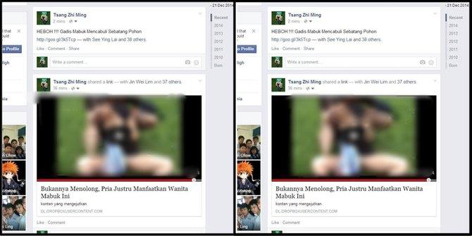 Menghentikan dan Menghapus Aplikasi Facebook Memposting Video Porno
