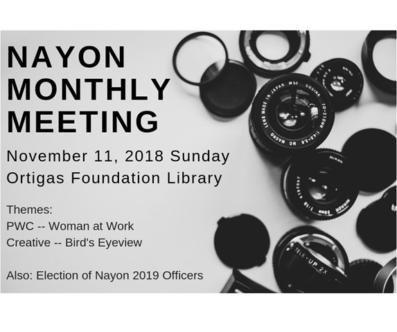 nayon monthly meeting