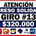 ¿Cuál es el valor de la Ingreso  Solidaria de abril: $160.000 o $320.000?
