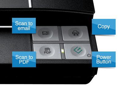 Các nút tùy chỉnh của máy Scan
