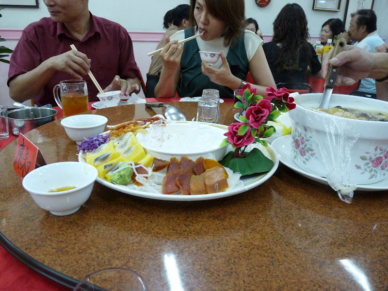 Anniversaire .Près de Taichung