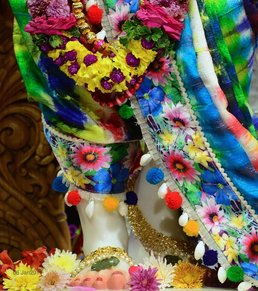 ISKCON GEV Deity Darshan 06 Jan 2017 (20)