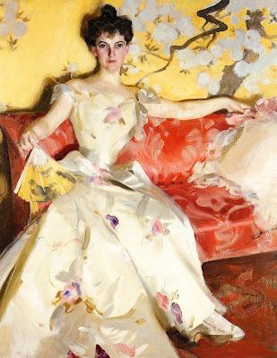 Anders Zorn - Portrait of Elizabeth Sherman Cameron