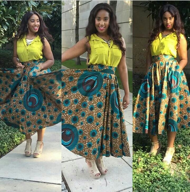 0774bd227 African Long Skirt And Blouse Styles - Image Of Blouse and Pocket