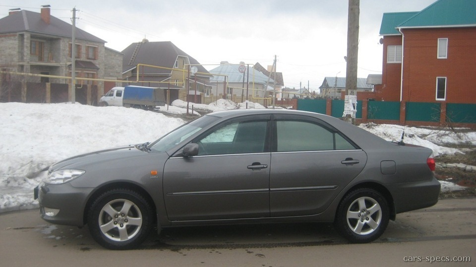 2002 toyota camry sedan specifications pictures prices. Black Bedroom Furniture Sets. Home Design Ideas